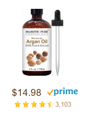 argan oil as skin toner