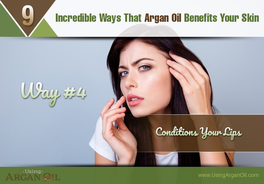 use argan oil to prevent acne
